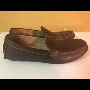Dexter Comfort Memory Foam Brown Leather shoes 13